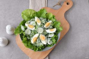 Салат со сметаной - фото шаг 5