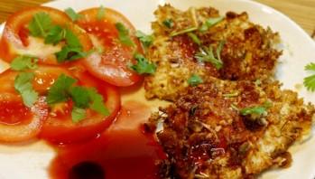 Ромштекс из курицы в духовке - фото шаг 9