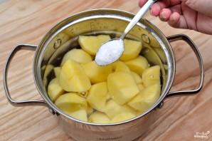 Пюре картофельное с молоком - фото шаг 1