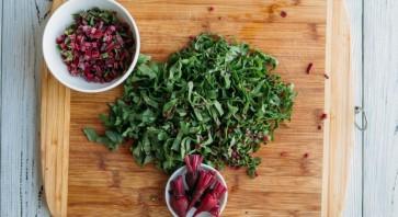 Новогодний салат с яблоком - фото шаг 3