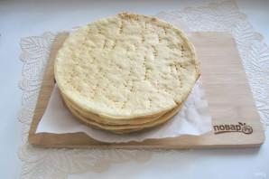 Сметанный торт с медовыми коржами - фото шаг 11