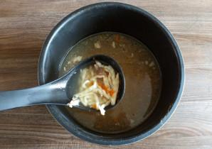 Суп из утки в мультиварке - фото шаг 9