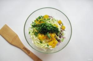 "Салат ""Три капусты"" - фото шаг 6"
