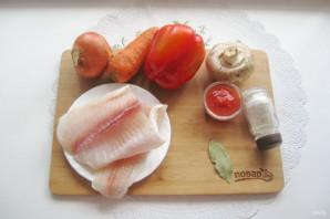 Рыбное соте - фото шаг 1