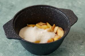 Конфитюр из персиков с фисташками - фото шаг 3