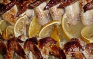 Куриные крылышки в лимонном сиропе - фото шаг 4
