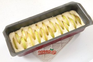 Творожный кекс с грушами - фото шаг 8