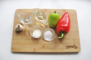Перец сладкий в масле - фото шаг 1