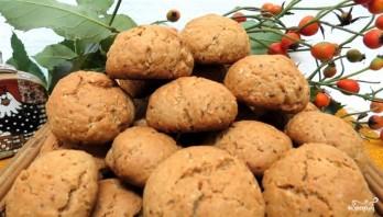 Овсяное печенье с медом - фото шаг 8
