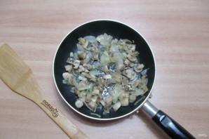 Салат из шампиньонов жареных - фото шаг 4