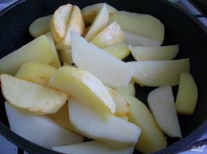 Картошка в духовке со сметаной и сыром - фото шаг 2