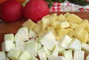 Рагу из цветной капусты и кабачков - фото шаг 3