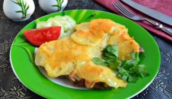 Ромштекс из говядины с сыром - фото шаг 5