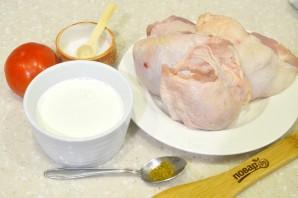 Курица в сливках в мультиварке - фото шаг 1