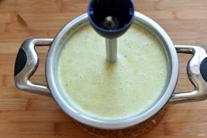 Суп-пюре с цветной капустой и шампиньонами - фото шаг 4