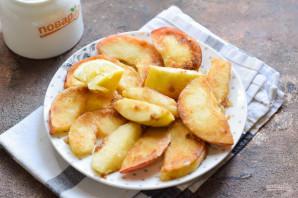 Жареные яблоки по-французски - фото шаг 5