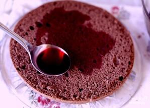 Вишневый торт - фото шаг 5