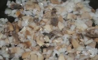 Салат с курицей, грибами и сыром - фото шаг 1