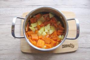Суп из тыквы с беконом - фото шаг 6