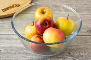 Яблоки моченые с солодом - фото шаг 5