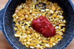 Томатный суп с нутом и беконом - фото шаг 4