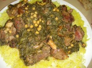 Рагу со шпинатом и горохом - фото шаг 5