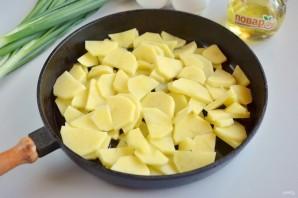 Картофель с луком - фото шаг 3