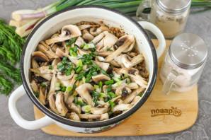 ПП гречка с грибами - фото шаг 7