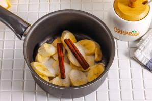 Банановый настой с корицей - фото шаг 3