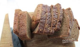 Свекольный сорбет с бородинским хлебом - фото шаг 4