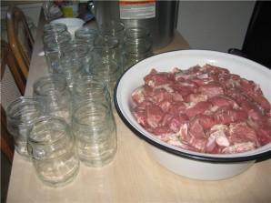 Домашняя тушенка из свинины - фото шаг 3