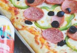 Быстрая и вкусная пицца - фото шаг 4