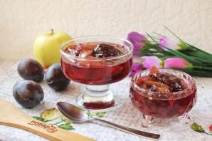 Варенье из яблок и слив в мультиварке - фото шаг 10