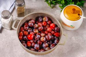 Соус из винограда на зиму - фото шаг 3