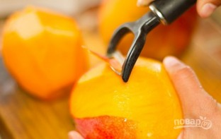 Острый салат с манго и помидорами - фото шаг 1