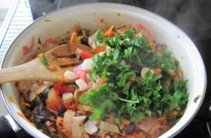 Патиссоны, фаршированные овощами - фото шаг 3