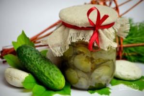 Салат из огурцов и лука на зиму - фото шаг 9
