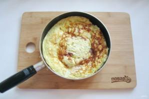 Омлет с сыром и кабачком - фото шаг 12
