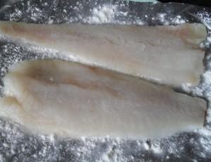 Рулетики из рыбы с сыром - фото шаг 4