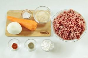 Зразы мясные с морковью - фото шаг 1