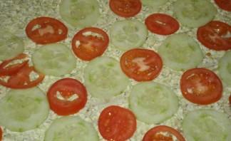 Вегетарианские рулеты из лаваша - фото шаг 2