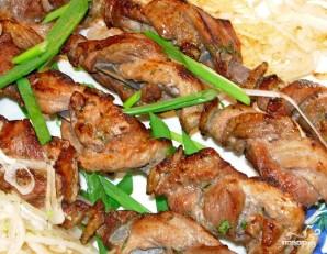 Шашлык из трех видов мяса - фото шаг 8