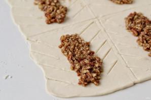 Слойки с пеканом и кленовым сиропом - фото шаг 5