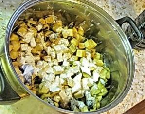 Говядина с баклажанами и помидорами - фото шаг 10