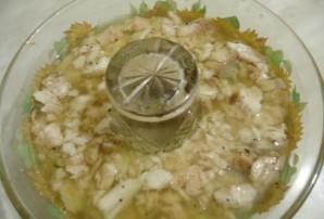 Заливное из рыбы и креветок - фото шаг 10
