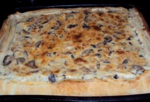 Пирог с грибами заливной - фото шаг 4