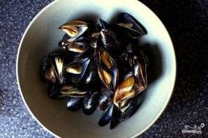 Жареные моллюски - фото шаг 1