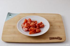Салат с нутом - фото шаг 3