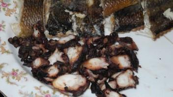 Копченый осьминог - фото шаг 4