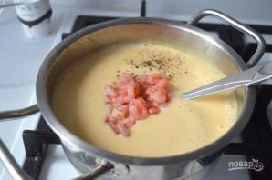 Сырный крем-суп с креветками - фото шаг 4